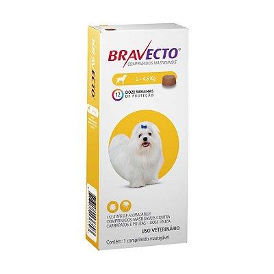 Bravecto Caes 2-4,5Kg