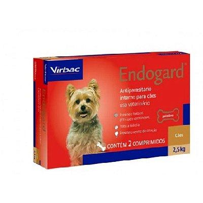 Vermífugo Endogard Cães até 2,5kg Virbac