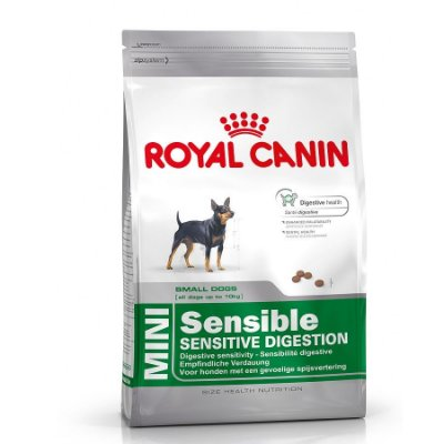 Ração Royal Canin Mini Sensible (3kg e 7,5kg)