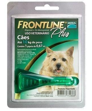Frontline Plus até 10 kg