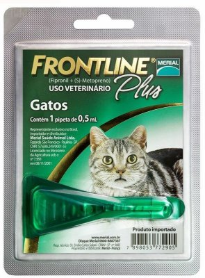 Antipulgas e Carrapatos Frontline Plus para Gatos