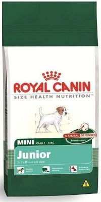 Ração Royal Canin Mini Junior (1kg e 3kg)