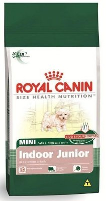 Ração Royal Canin Mini Indoor Junior (3kg e 7,5kg)