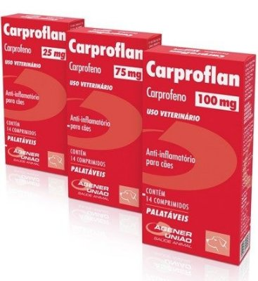 Carproflan (25mg, 75mg e 100mg)