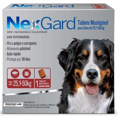 Nexgard 25,1 à 50kg