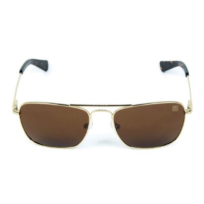 Óculos de Sol Polarizado Banhado a Ouro Zabô Lensk lente Marrom