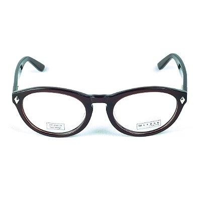 Armação para óculos de grau em Acetato Lensk Veneza Marrom