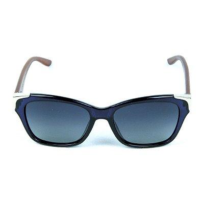 Óculos de Sol Polarizado Zabô Barcelona Azul lente Preta