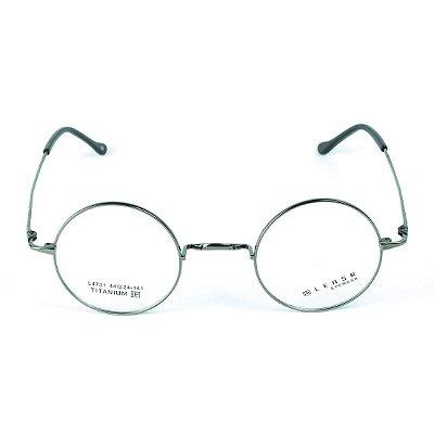 Armação para óculos de grau em Titânio Hogwarts Prateado