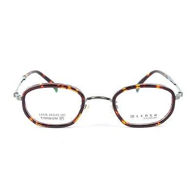 Armação para óculos de grau em Titânio Lensk Brest Chumbo