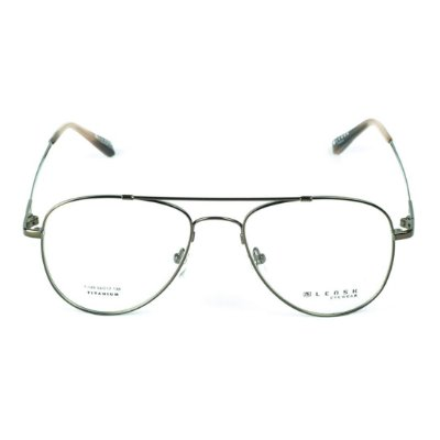 Armação para óculos de grau Lensk T-149 cor Marrom