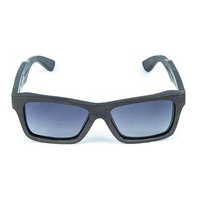 5d61bd6cc1 Óculos de Sol Polarizado em Madeira Samara Zabô Ebano