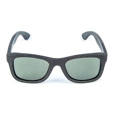 0f265750a Óculos de Sol Polarizado em Madeira Ebano Zabô Sarov
