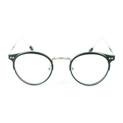 Óculos de Grau Zabô X Crazy Seriez Preto