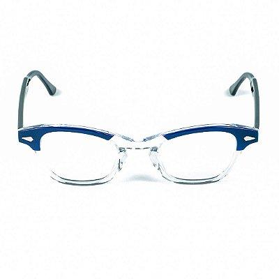 Armação para óculos de grau Lensk Milão Azul Grau