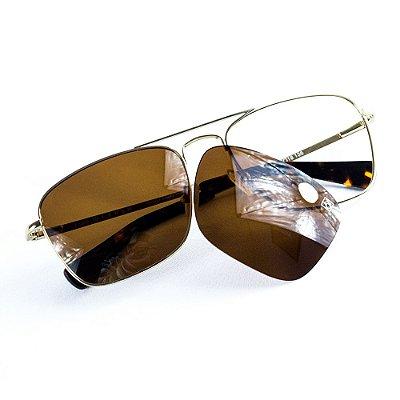 Lente para óculos de sol - Marrom