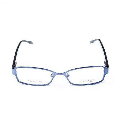 Armação para óculos de grau em metal Lensk F3103 Roxo