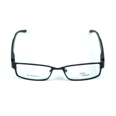 Armação para óculos de grau em metal Zabô Cuzco Preto