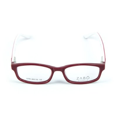 Armação para óculos de grau em Acetato Zabo Gibraltar Vermelho