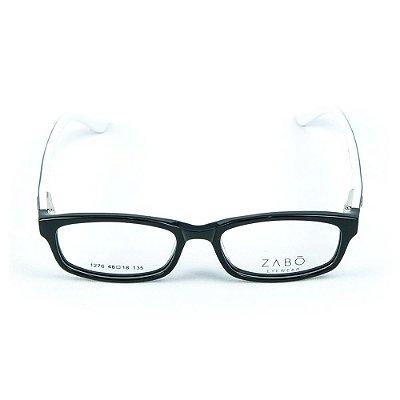 Armação para óculos de grau em Acetato Zabo Gibraltar Cinza