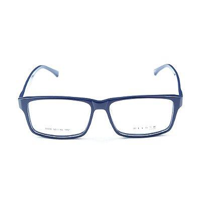 Armação para óculos de grau em Acetato Lensk 8008 Azul