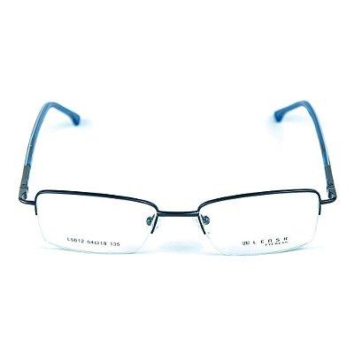 Armação para óculos de grau em metal Lensk 5012 Azul