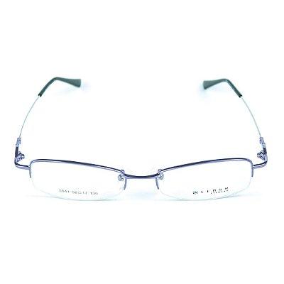 Armação para óculos de grau em metal Lensk 5041 Roxo