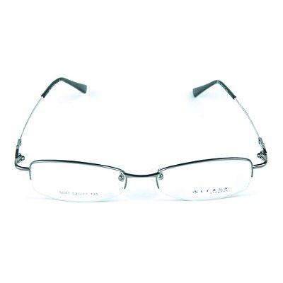 Armação para óculos de grau em metal Lensk 5041 Chumbo