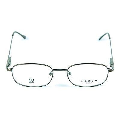 Armação para óculos de grau em Metal L.A. 3910 Marrom