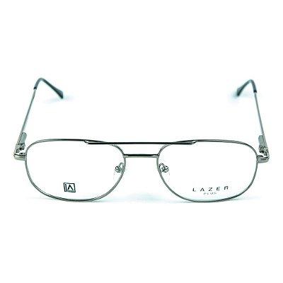 Armação para óculos de grau em Metal L.A. 4048 Chumbo