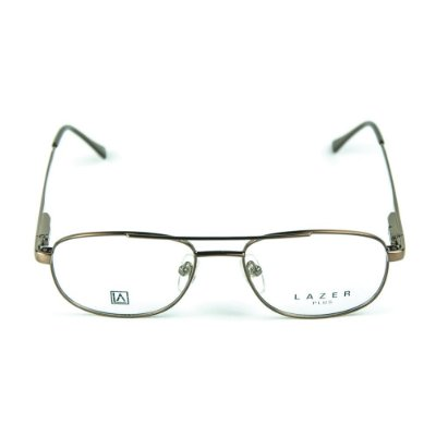 Armação para óculos de grau em Metal L.A. 9623 Marrom