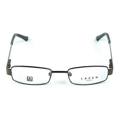 Armação para óculos de grau em Metal L.A. 4040 Marrom
