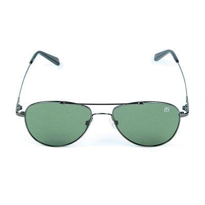 Óculos de Sol Polarizado T-149 Zabô Titânio Chumbo Sol