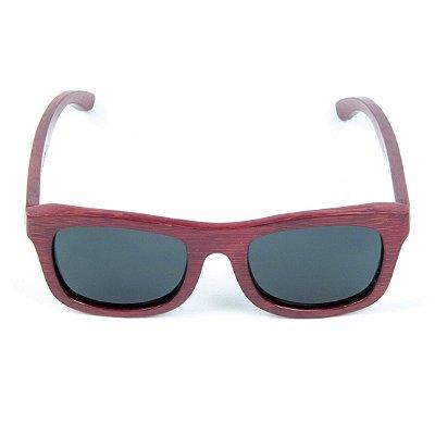 Óculos de Sol Polarizado em Madeira Bambu Zabô QueensTown