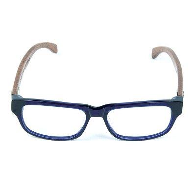 Armação para Óculos de Grau Zabô Joanesburgo Azul