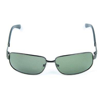 Óculos de Sol Polarizado em Metal Zabô Arequipa Chumbo