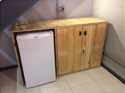 Gabinete armário adega de paletes- somente venda