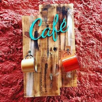 Quadro Café para xícaras