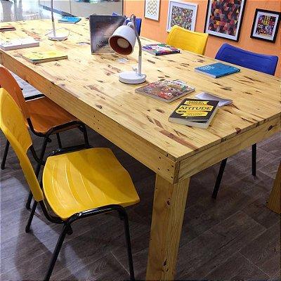 Mesa comunitária grande 250 x 122x80 cm- somente venda