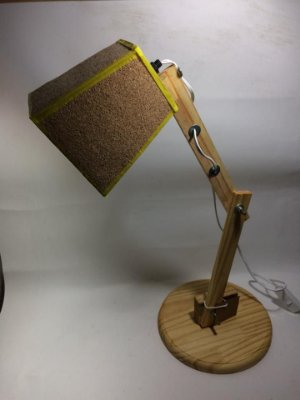 Luminária cortiça- somente venda