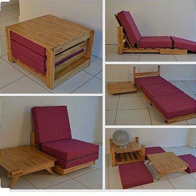 Sofá poltrona cama - multi uso - somente venda
