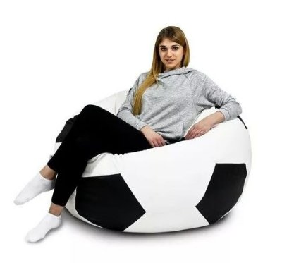 Puff bola de futebol -copa do mundo - somente locação - tamanho adulto