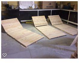 Chaise de pallet - somente venda