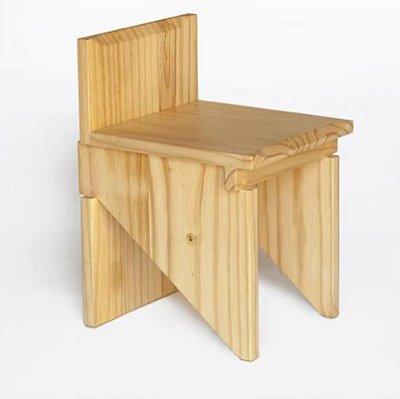 Cadeira pinus maciça - venda e locação