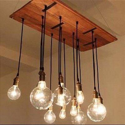 Luminária pendente simple