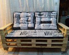 Sofá Simple ideal para espaço comercial / recepção