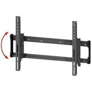 """Suporte de Parede Fixo Multivisão STPA-61 com Fixação Universal e Inclinação para TV LCD, LED e 3D de 37"""" à 63"""" Polegadas e até 75kg - Preto"""