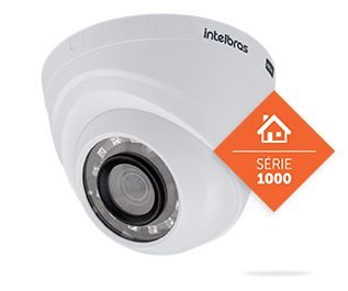 Câmera Intelbras Dome Interna G3 Infravermelho 10M 3,6MM MULTI HD VHD1010D 720P