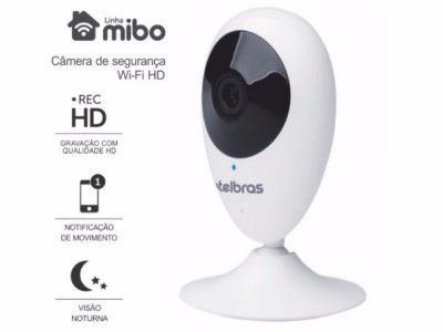 CAMERA IP WIRELESS INTERNA WI-FI HD INTELBRAS MIBO IC3