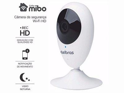 CAMERA IP WIRELESS INTERNA WI-FI HD INTELBRAS MIBO IC3